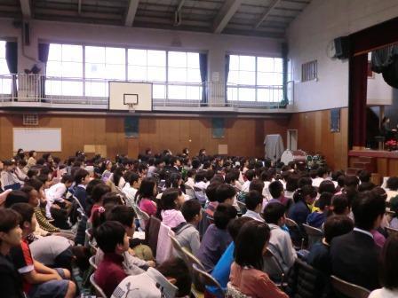 横浜市立青葉台中学校 13.07ブロ...